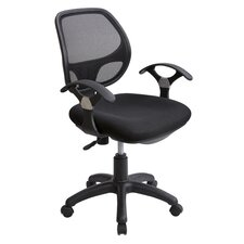 <strong>Techni Mobili</strong> Mesh Height Adjustable Office Chair