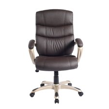 "<strong>Techni Mobili</strong> 'Decision-Maker"" High-Back Executive Chair"