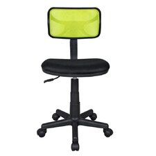 <strong>Techni Mobili</strong> Basic Mesh Task Chair with Adjustable Seat