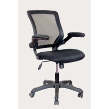Mesh Task Chair with Flip-Up Arms