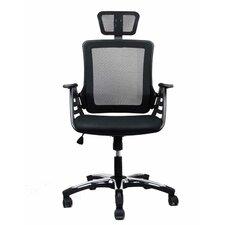 High-Back Executive Chair with Headrest