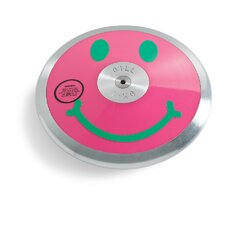 Graphic Smiley Discus Label