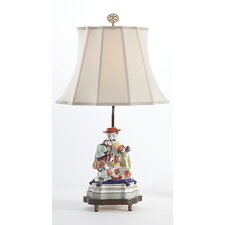 "Figure Man 24"" H Table Lamp with Empire Shade"