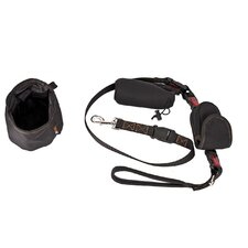Rac 2 Piece Advanced Dog Lead with Phone Holder & Bowl