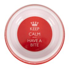 Keep Calm Feeding Bowl