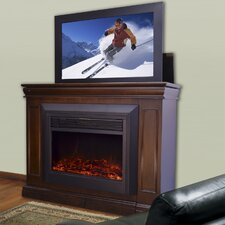 "Conestoga 51"" W Lift TV Stand with Electric Fireplace"