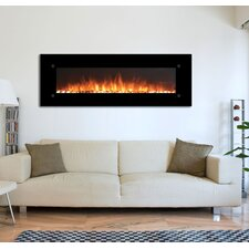 OnyxXL Electric Wall Mounted Electric Fireplace