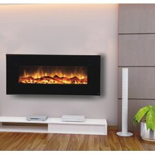 "<strong>Touchstone</strong> Onyx Touchstone 50"" Electric Wall Mounted Fireplace"