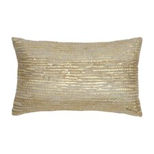 Oxidized Leaf Decorative Pillow