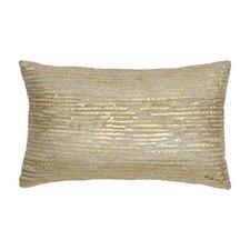 Oxidized Leaf Decorative Pillow