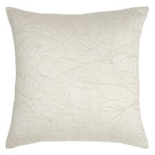 Oxidized Leaf Quilted Euro Sham