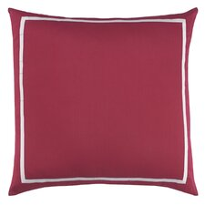 Blossom Polyester Faux Silk Decorative Pillow