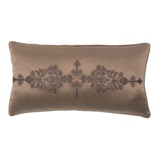 Pearse Polyester Embroidered Satin Decorative Pillow