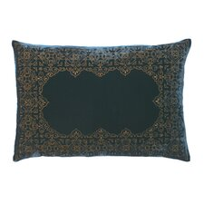 Pearse Polyester Velvet Embroidered Decorative Pillow