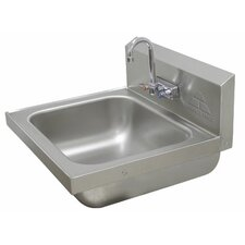 "19"" x 19"" Hand Sink with Faucet"