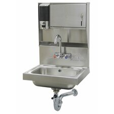 "157"" x 15"" Hand Sink with Faucet"