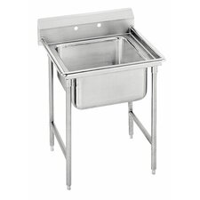 "<strong>Advance Tabco</strong> 900 Series Seamless Bowl 27"" x 31"" 1 Compartment Scullery Sink"