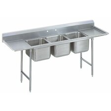 T-9 Series 3 Compartment Scullery Sink