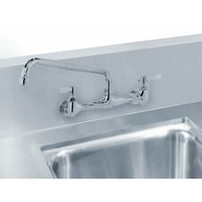 <strong>Advance Tabco</strong> Countertop Double Bowl Welded in Top Sink