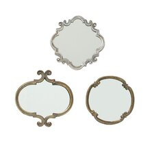<strong>Selectives</strong> Meadow Mirror (Set of 3)