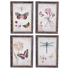 Willow Insect Wall Art (Set of 4)