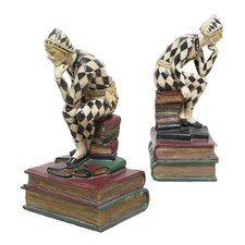 <strong>Selectives</strong> Harlequin Book Ends (Set of 2)