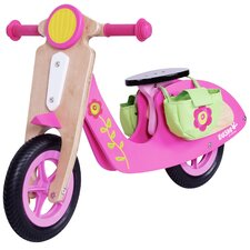 Girl's 2 Wheel Walking Scooter