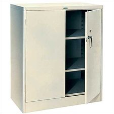 "1000 Series 36"" Wide Counter High Cabinet:  42"" H x 36"" W x 21"" D"
