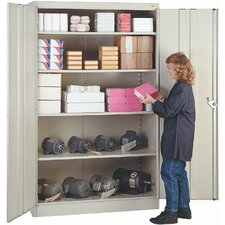 "1000 Series 48"" Wide Storage Cabinet: 78"" H  x 48"" W x 24"" D"
