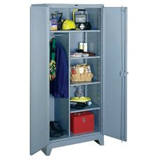 "All-Welded  Combination Cabinet: 78"" H x 36"" W x 24"" D"
