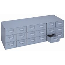 "18-Drawer Case Unit (17"" Deep)"