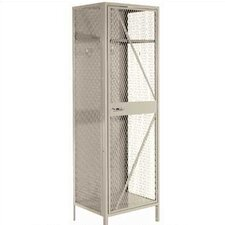 Expanded Metal Team Locker - 2 Sections (Unassembled)