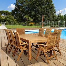 Teak Willet 9 Piece Dining Set