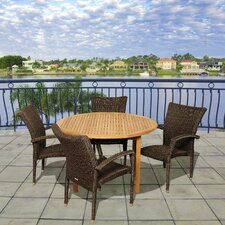 Plover 5 Piece Dining Set