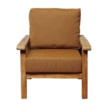 Amazonia Teak San Marcos Teak Arm Chair with Sunbrella Cushions