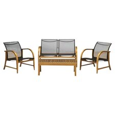 Amazonia Jersey 4 Piece Deep Seating Group