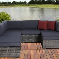 Atlantic 6 Piece Deep Seating Group with Cushions