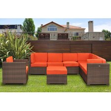 Marseille 8 Piece Deep Seating Group with Cushions