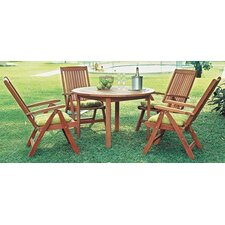 Amazonia Porto 5 Piece Dining Set