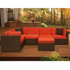 Aventura 6 Piece Deep Seating Group with Cushions
