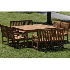 Milano 9 Piece Dining Set