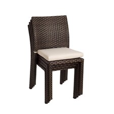 Atlantic Dining Side Chairs with Cushions (Set of 4)
