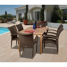 Amazonia Wales 7 Piece Dining Set