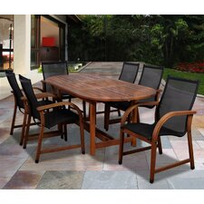 <strong>International Home Miami</strong> Amazonia Jersey 7 Piece Dining Set