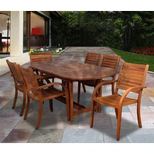 <strong>International Home Miami</strong> Amazonia Maryland 7 Piece Dining Set