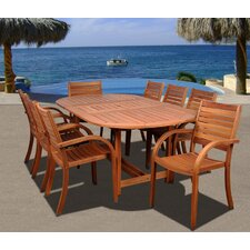 Amazonia Maryland 9 Piece Dining Set