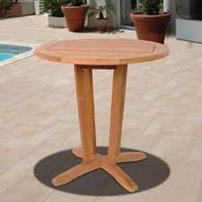 <strong>International Home Miami</strong> Amazonia Teak Idaho Dining Table