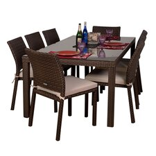 Atlantic Liberty 9 Piece Dining Set