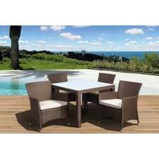 Atlantic Liberty Deluxe 5 Piece Dining Set
