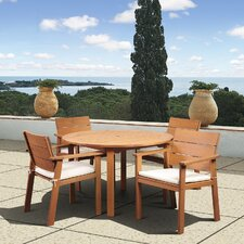 <strong>International Home Miami</strong> Amazonia Vincent 5 Piece Dining Set